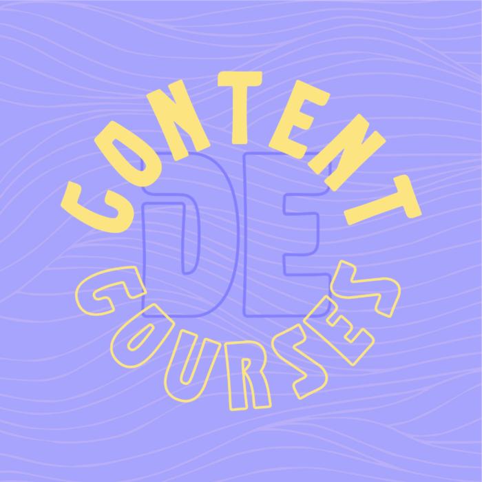 Leer alles over hoe jij content marketing voor jou en jouw business kunt laten werken tijdens de 5-daagse Insta-cursus De Content Courses.